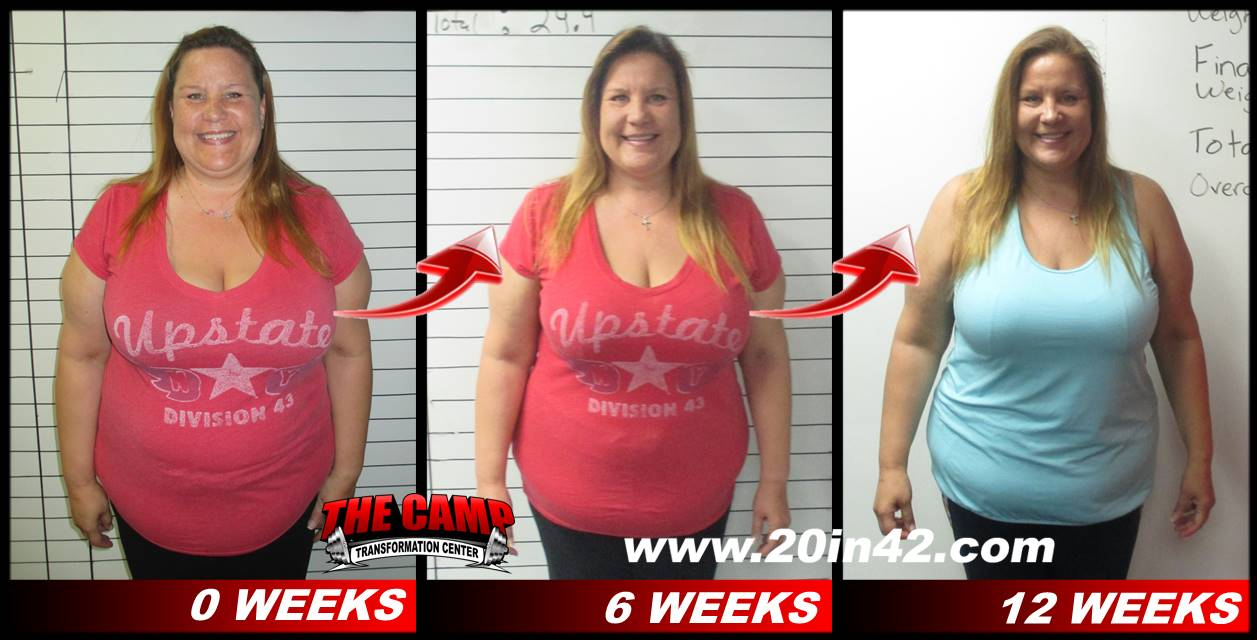 before and after picture 12 weeks weight loss challenge