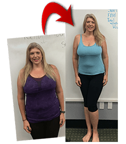Kelly Murphy Marshall before and after weight loss challenge